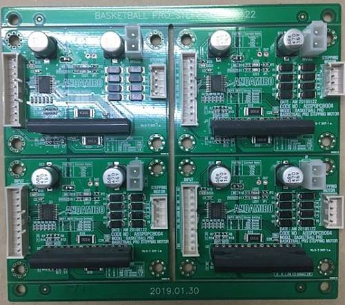 STEPPING-MOTOR-PCB ASS'Y / PART SUB NAME / PART CODE