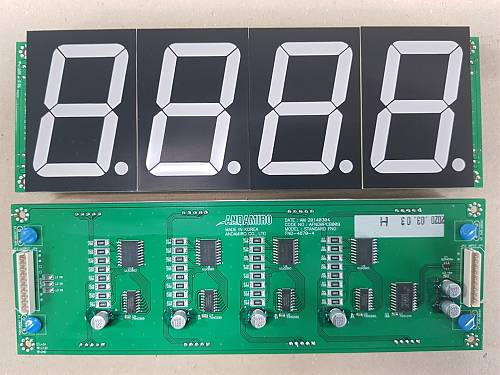 FND PCB ASS'Y / PART SUB NAME / PART CODE