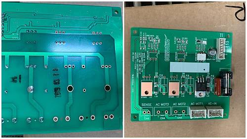 AC MOTOR PCB ASS'Y / PART SUB NAME / PART CODE