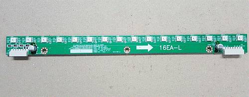 WS2813B LED PCB 16EA-L ASS'Y / PART SUB NAME / PART CODE