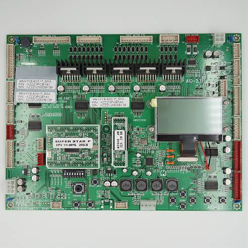 MAIN PCB ASS'Y WITH CPU_SOUND / PART SUB NAME / PART CODE